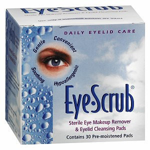 Novartis Eye Scrub Cleansing Pre-Moistened Pads