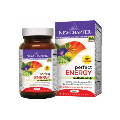 New Chapter Perfect Energy Multivitamin - 72 Tablets