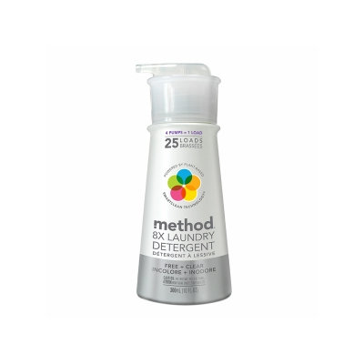 method free + clear laundry detergent