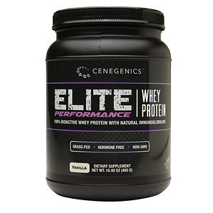 Cenegenics - Elite Performance Whey Protein Vanilla - 16.4 oz.