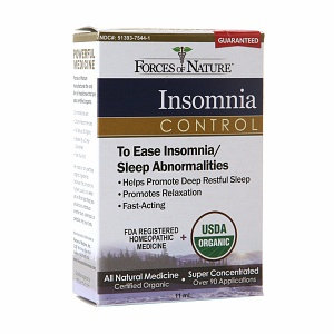 Forces of Nature Organic Insomnia Control 11 ml