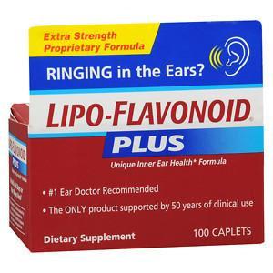 Lipo-Flavonoid Plus Dietary Supplement For Ear Health, 2 pk, 100 ea