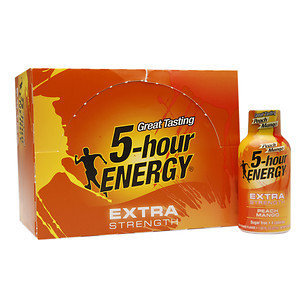 5 Hour Energy 5-Hour Energy Extra Strength, Peach Mango, 12 pk, 1.93 oz