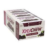 Xylichew Soft Chewing Gum Sweetened with Birch Xylitol Blister Packs, Black Licorice, 12 pk, 144 ea