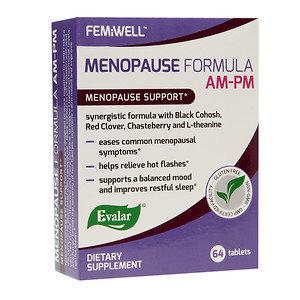 Evalar FEMiWELL Menopause Formula AM-PM, 64 ea
