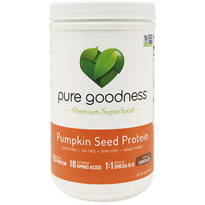 Pure Goodness Pumpkin Seed Protein, Chocolate, 16 oz
