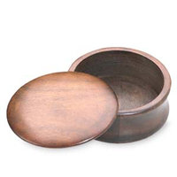 Kingsley For Men Wood Shave Soap Bowl with Lid