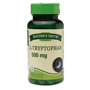 Nature's Truth L-Tryptophan 500mg, 60 ea