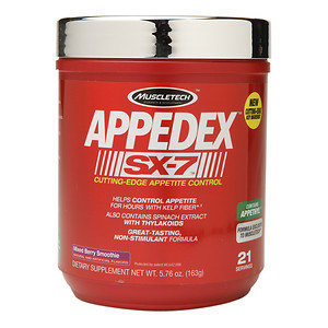 Muscletech Products - APPEDEX SX-7 Cutting-Edge Appetite Control Mixed Berry Smoothie - 5.76 oz.