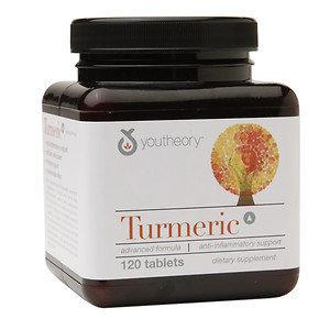 Youtheory Turmeric Advanced Formula - 120 Tablets