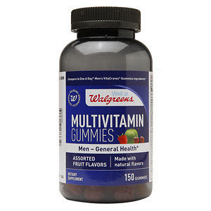 Walgreens Men's Multivitamin Gummies, Fruit, 150 ea