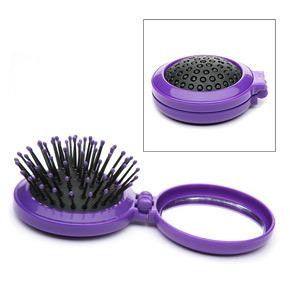 Body Benefits Pop-Up Hairbrush with Mirror