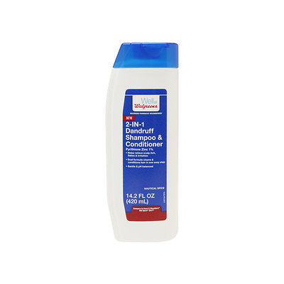 Walgreens 2 In 1 Shampoo/Conditioner, Nautical Spice, 14.2 oz