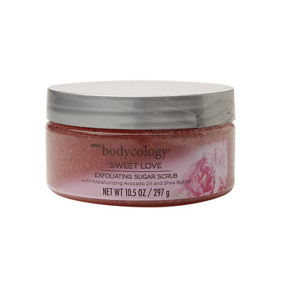 Bodycology Exfoliating Sugar Scrub, Sweet Love, 10.5 oz