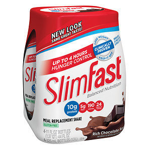 SlimFast Balanced Nutrition Rich Chocolate Royale Shakes