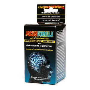 Windmill Health Products - Focus Formula Brain Enhancement Supplement - 120 Caplets