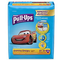 HUGGIES Pull-Ups Boys' Learning Designs Training Pants, (Choose Your Size)