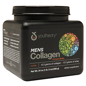 Youtheory Mens Collagen Protein Shake, 24 oz