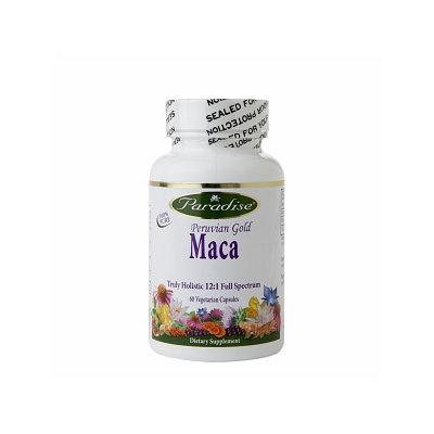 Paradise Herbs Peruvian Gold Maca - 60 Vegetarian Capsules