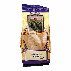 NOW Foods Vcaps '0' Empty Non-gelatin Vegetarian, 300 ea