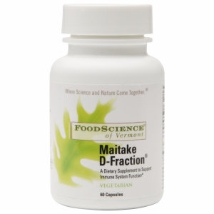 FoodScience of Vermont Maitake D-Fraction Dietary Supplement Capsule