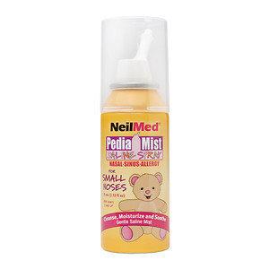 NeilMed PediaMist Saline Spray for Small Noses, 2.53 oz