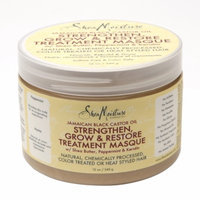 SheaMoisture Jamaican Black Castor Oil Strengthen, Grow & Restore Treatment Masque w/ Shea Butter, Peppermint & Keratin