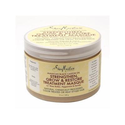SheaMoisture Jamaican Black Castor Oil Strengthen, Grow & Restore Treatment Masque w/ Shea Butter, Peppermint & Keratin