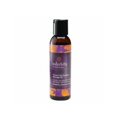 Bodhichitta Botanicals Nurture The Goddess Massage Oil, 4 fl oz