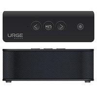 URGE Basics UG-SBPLUS-BLK Black SOUNDBRICK PLUS Bluetooth & NFC Compatible Speaker