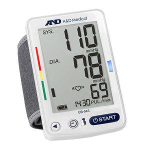 A & D Medical UB-543 Premium Wrist Blood Pressure Monitor