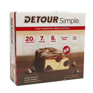 Detour Simple Salted Caramel Cookie Dough, 12-2.1oz