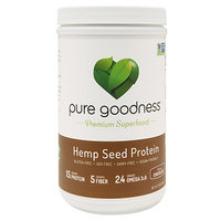 Pure Goodness Hemp Seed Protein, Chocolate, 16 oz