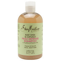SheaMoisture Raw Shea & Cupuaçu Frizz Defense Shampoo