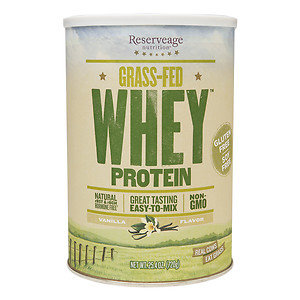 Reserveage Organics GrassFed Whey Protein Vanilla Flavor
