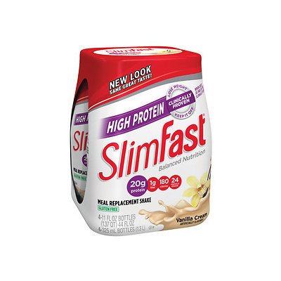 SlimFast Balanced Nutrition High Protein Creamy Vanilla Shakes