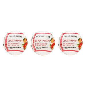 Aromatherapaes Bath Fizzies, 3 pk, Detox, 1 ea