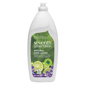 Seventh Generation Fresh Lime & Lavender Natural Dish Liquid