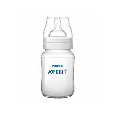 Avent SCF563/17 Bottle Classic+ PP, 9 oz, Clear, 1 ea