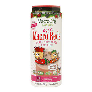 MacroLife Naturals Inc. Macro Berri Reds 32 Day - 7.1 Ounces Powder - Other Green / Super Foods