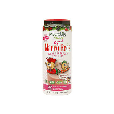MacroLife Naturals Inc. Macro Berri Reds 32 Day - 7.1 Ounces Powder - Other Green / Super Foods