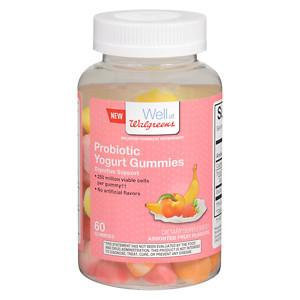 Walgreens Probiotic Yogurt Gummies, Fruit, 60 ea