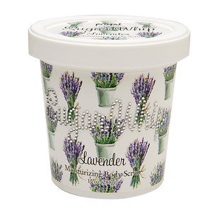 Primal Elements Sugar Whip Moisturizing Body Scrub, Lavender, 10 oz