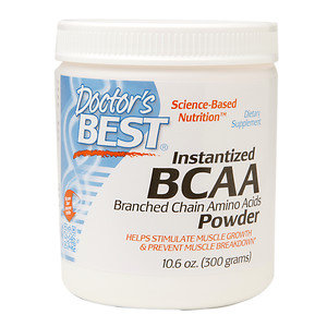 Doctor's Best Instantized BCAA Branched Chain Amino Acids Powder
