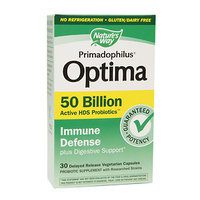 Primadophilus Optima Immune Defense 50 Billion Nature's Way 30 VCaps