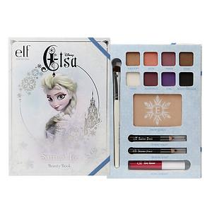 e.l.f. Disney Elsa Snow and Ice Beauty Book, 1 set