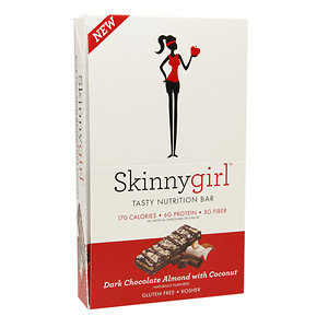 Skinnygirl Tasty Nutrition Bar, 12 pk, Dark Chocolate Almond with Coconut, 1.4 oz