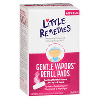 Little Remedies Gentle Vapors Refill Pads, 5 ea
