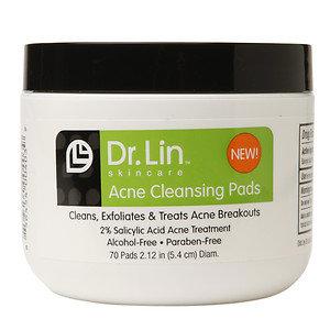Dr. Lin Acne Cleansing Pads 70 Count