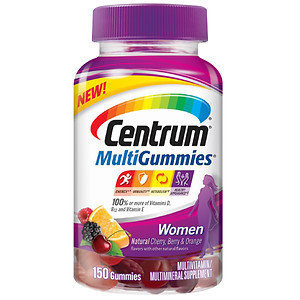 Centrum MultiGummies Women, Cherry, Berry, Orange